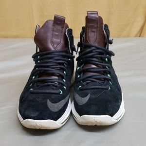 A pair of NIKE Lebrons